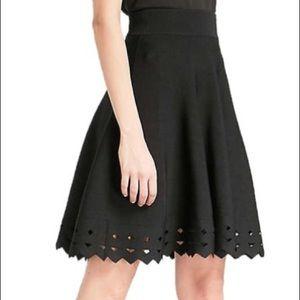 Maje June Cutout Hem Knit Skirt, Size 2